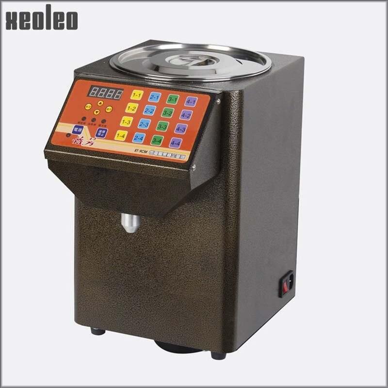 Xeoleo Automatic Fructose machine Bubble tea machine For Bubble tea shop Syrup Dispenser 8.5L 250CC Fructose dispenser