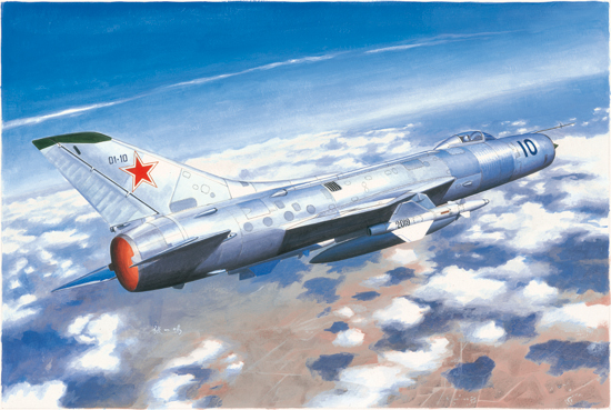 Trumpeter 1/48 Model Kit 02898 Sukhoi SU-11 Fishpot цена