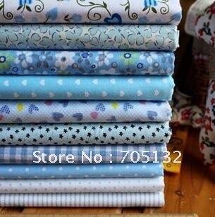 20*30cm 45pcs 9 assorted prints cotton quilt patchwork  fabric DIY crafts home textile