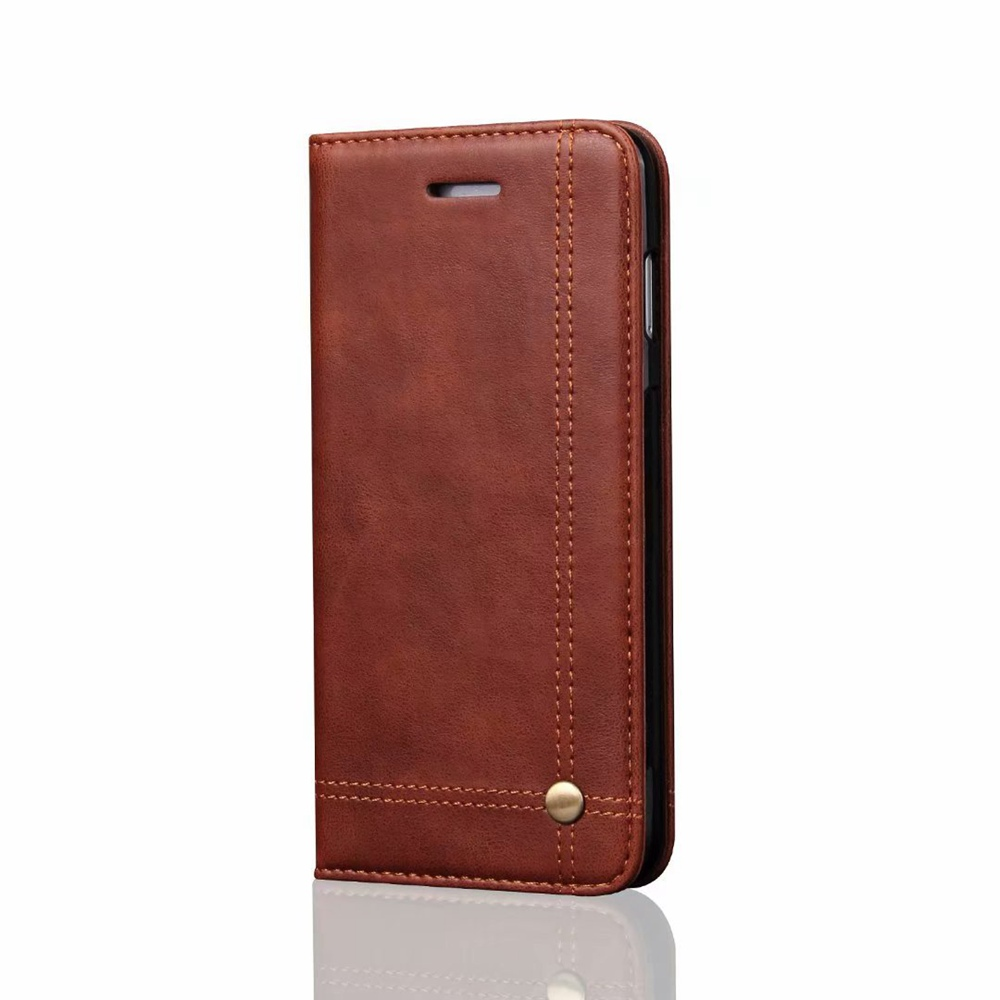 For iphone X 6 6s plus Case PU Leather Coque For iphone 7 8 Plus Case Flip Cover Wallet Card Holder Slot 5S SE Anti-knock Funda
