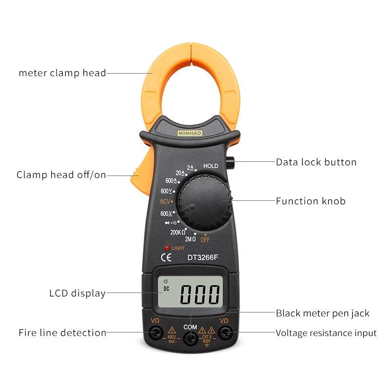 Digitaalne Multimeeter DT-3266L 600A 2