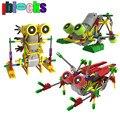 Iblocks creativo diy assemblage motor eléctrico modelos y construcción de robots juguetes aficiones niños educativos bloques de engranajes para niños