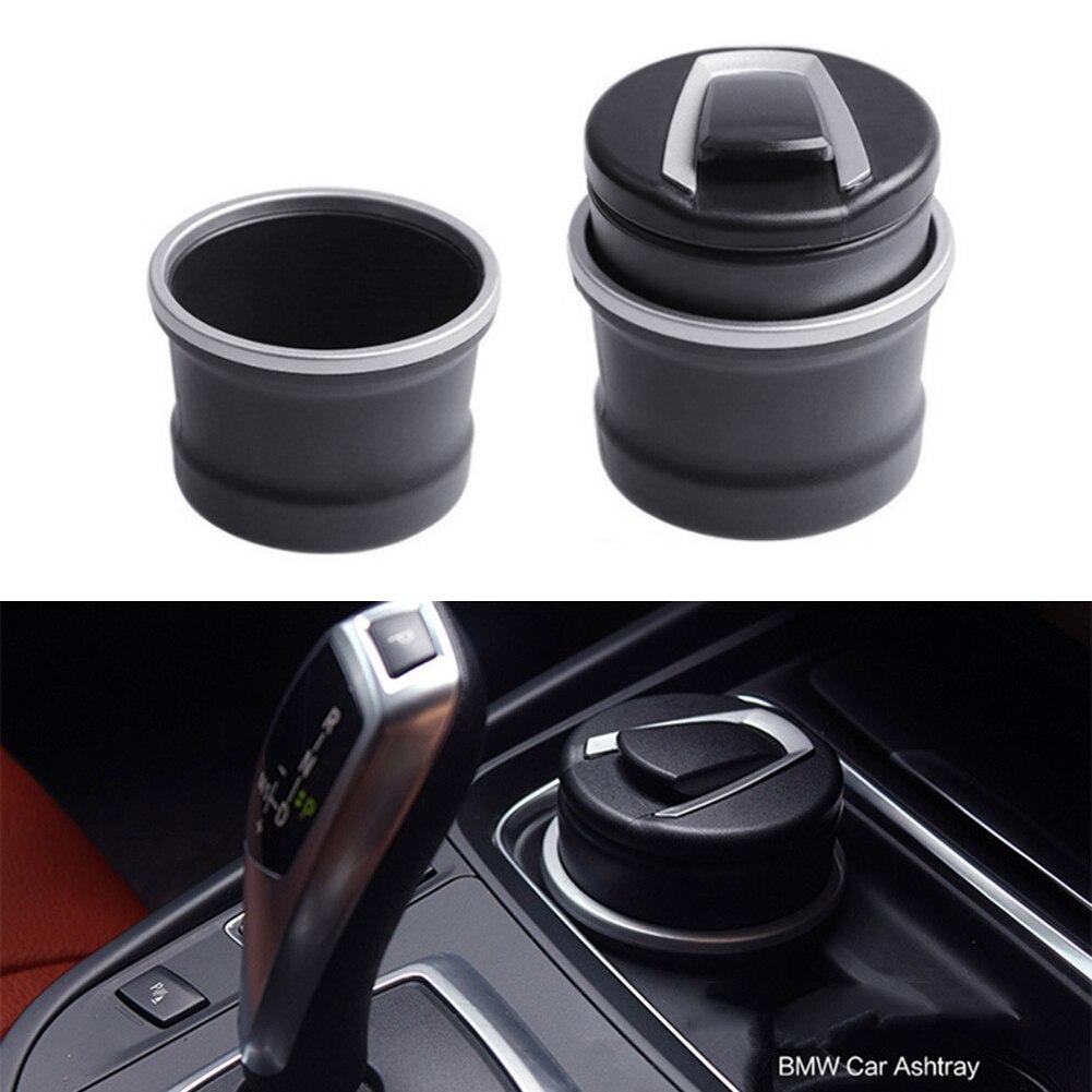 Auto Car Ashtray LED Cigarette Smoke Automotive Multifunction Durable For BMW NJ88