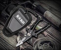 HX outdoors wielofunkcyjne szczypce wędkarskie nożyczki przecinak żyłki narzędzie do odczepiania haczyków zacisk wędkarski akcesoria narzędzia ze smyczami szczypce