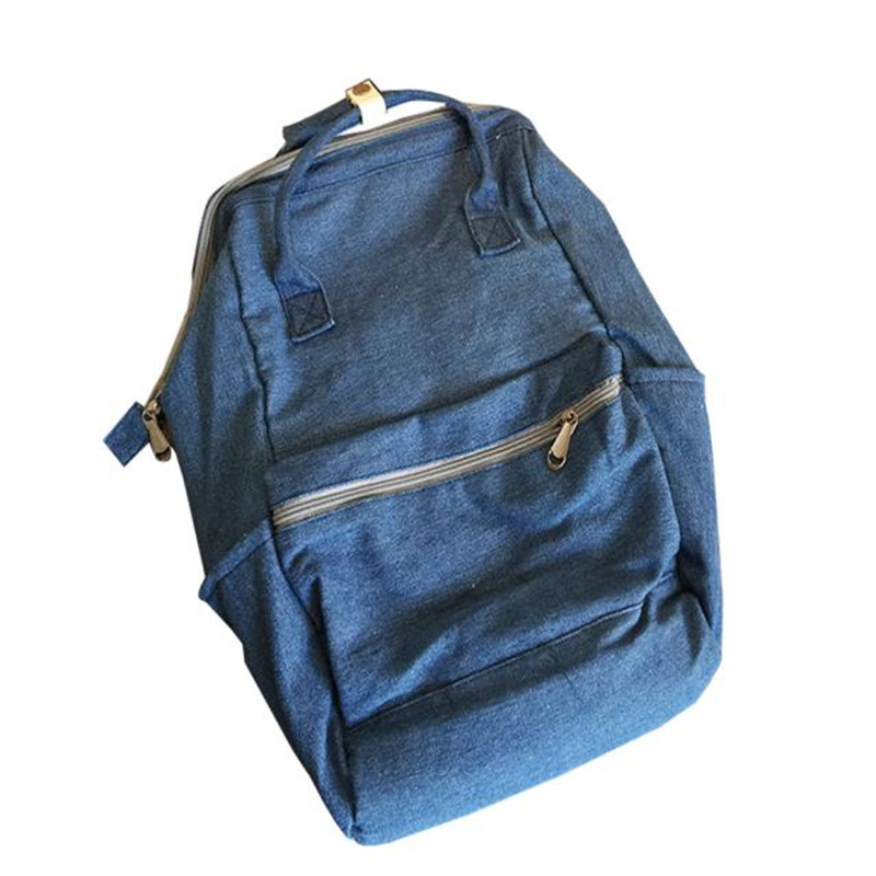 все цены на  New women bag Printing Canvas Unisex Fashion Denim Travel Backpack Bags School bag Rucksack Casual Retro school bags gifts 2017  онлайн