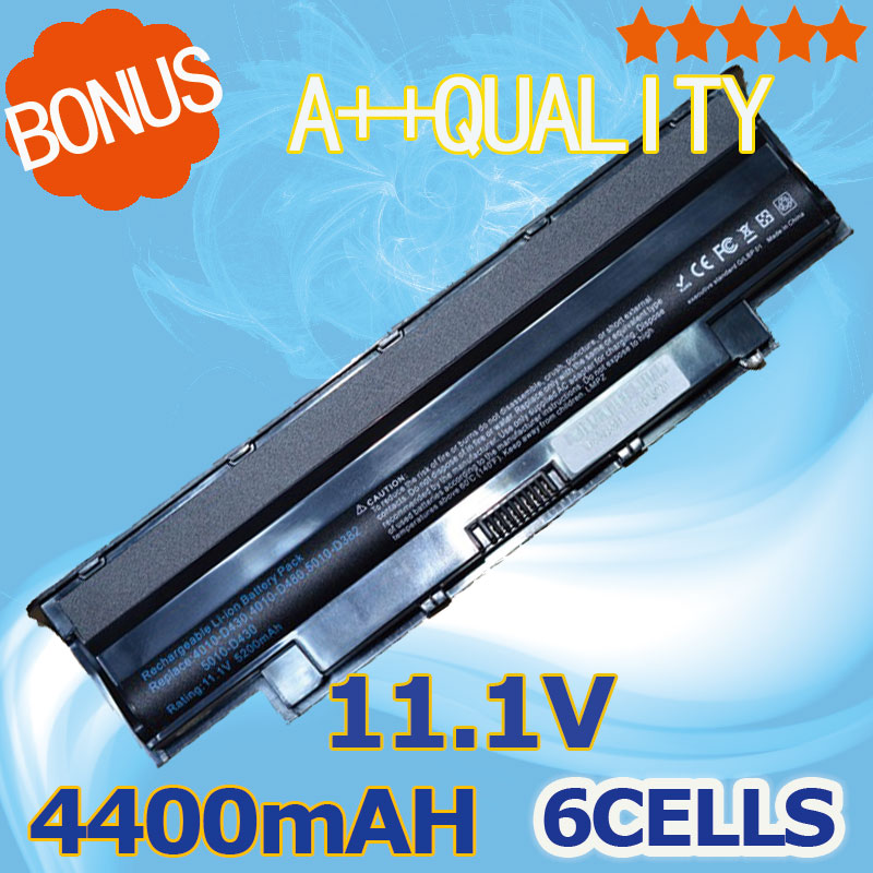 4400mAh Battery For Dell j1knd For Inspiron 13R 14R 15R 17R M501 M511R N3010 N3110 N4010 N4050 N4110 N5010 N5110 N7010 N7110 наклейка на наутбук kh inspiron 15r 5537