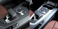 Matt Chrome Gear Shift Selector Trim Cover For Audi A4 B9