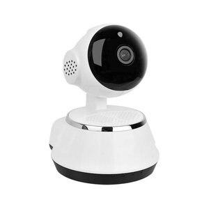 Image 4 - 2017 กล้อง IP ไร้สาย WIFI 720P กล้องวงจรปิดระบบรักษาความปลอดภัยภายในบ้าน Micro Sd สนับสนุน Microphone & P2P APP ฟรีพลาสติก ABS