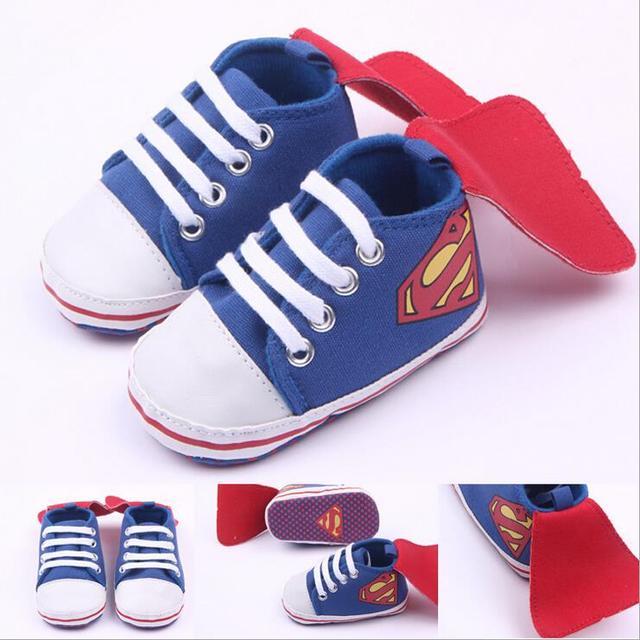 bbaf4a800a4 Nueva Moda Hermoso Bebé Recién Nacido Niños Niñas Caminantes Primero los  zapatos Infantiles Del Niño Súper