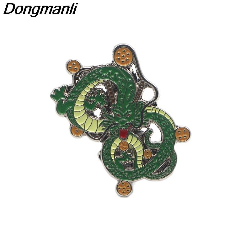 Dragon Ball Son Goku Enamel Pin Japanese Anime Badge Brooch Fans Gift Collection