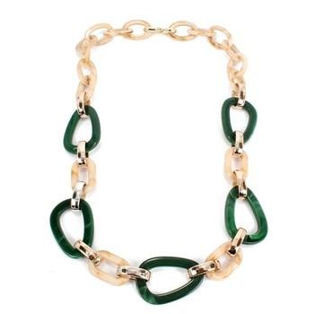 Ziris fashion power Leather cord statement necklace 1