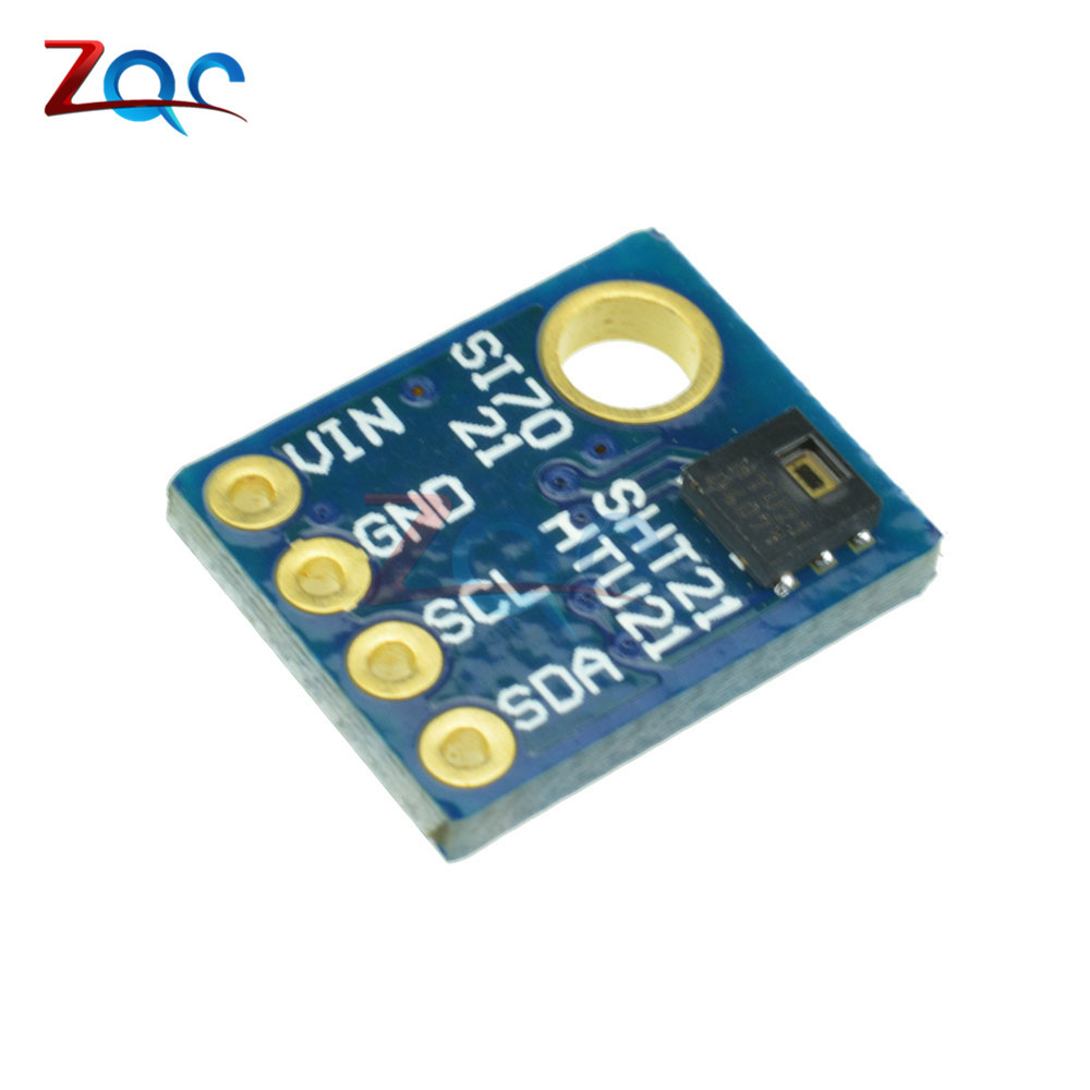 HTU21D SHT21 IIC/I2C Digital Temperature & Humidity Sensor Breakout Board Module For Weather Stations Humidor Control rcmall bme280 pressure humidity temperature barometric pressure altitude sensor module with iic i2c for arduino fz1639