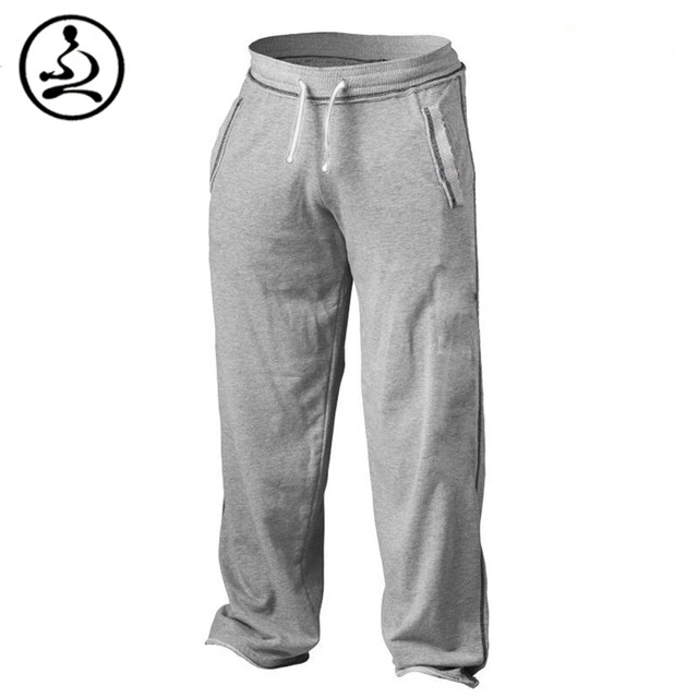 Mens Bodybuilding Pants Casual Sportwear  Joggers Cotton Trousers Gymshark Professional Bodybuilding Sweatpants