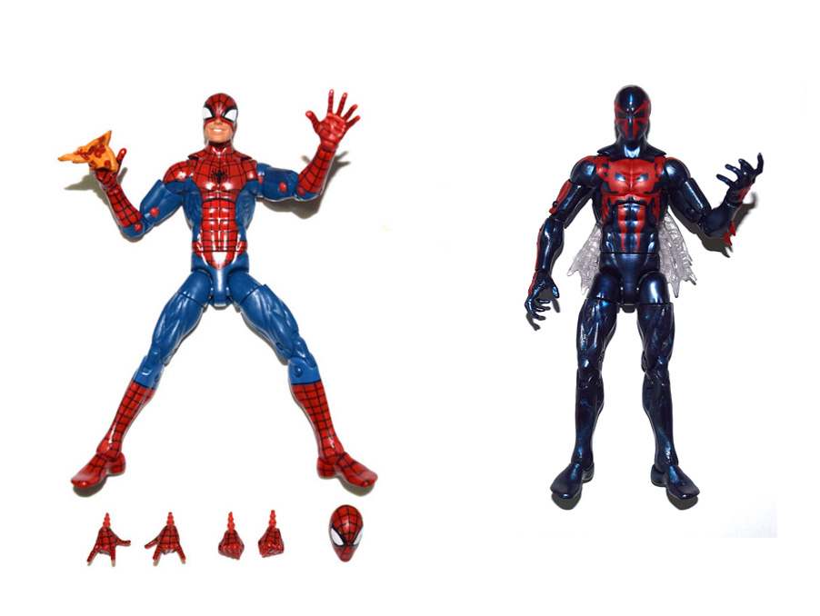 Marvel Legends Infinite Series Pizza Spiderman Spiderman 2099 All New All Different Action Figure FREE SHIPPING