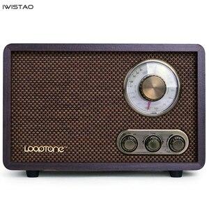 Image 1 - FM/AM Radio double bande Antique bois Vintage classique rétro maison bureau Radio Bluetooth haut parleur