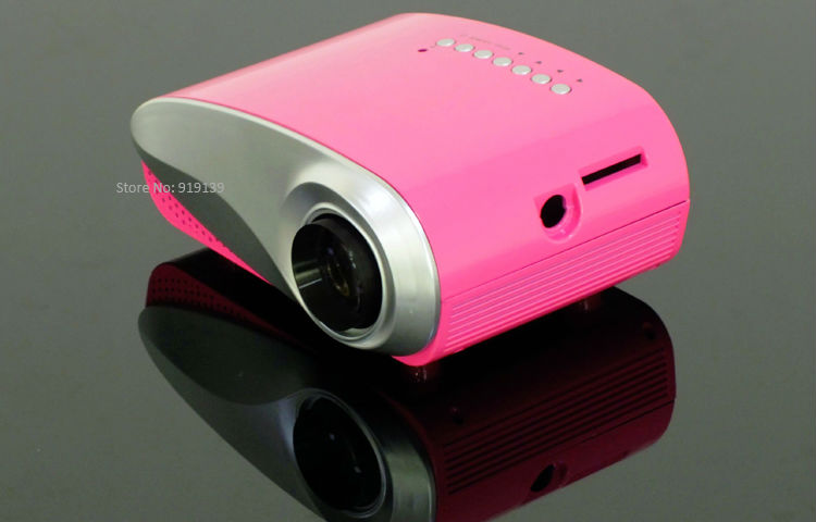 mini projector red pic 3