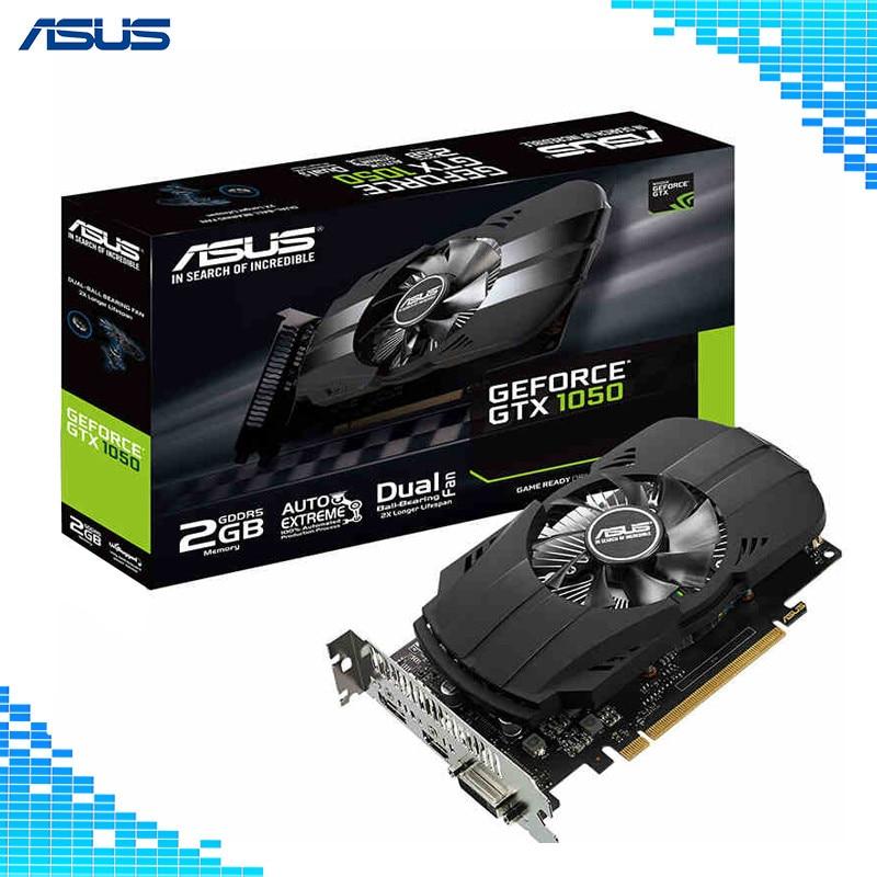 Asus PH-GTX1050-2G D5 Boost 1455MHz 128bit GDDR5 PCI Express 3.0 16X Game Graphics Cards ph gtx1050 3g