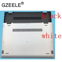 GZEELE NEW For lenovo YOGA 510 14 510 14ISK FLEX4 14 Flex 4 1470 Flex 4 1480 Laptop Bottom Base Case Cover black / white lower