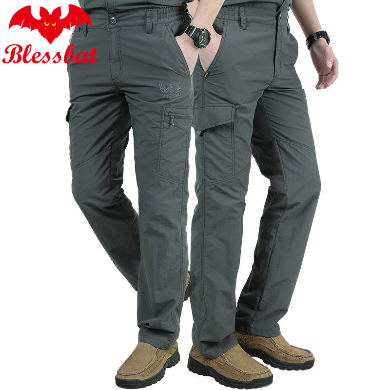 Lightweight Pants Tactical-Loading Military-Style Army Men's Summer Size-M-4xl