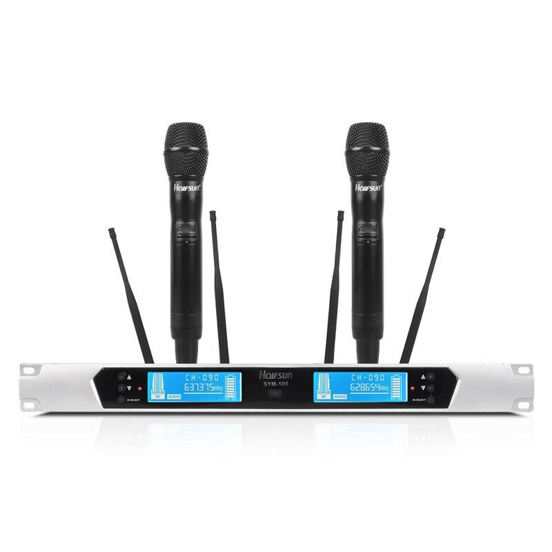 400 mètres sans fil longue distance Microphone nouveau haute qualité professionnel UHF sans fil Microphone professionnel portable