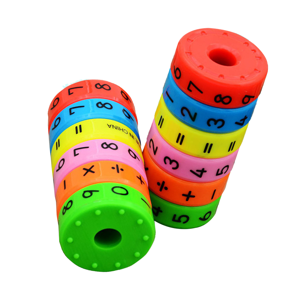 Math Toys Baby learn Educational montessori Stick Magnetic cylinder Puzzle Education Number Toys Calculate Game Learn Counting kids wooden math toys children math calculate game toys child learning educational toys baby montessori materials calculate toys