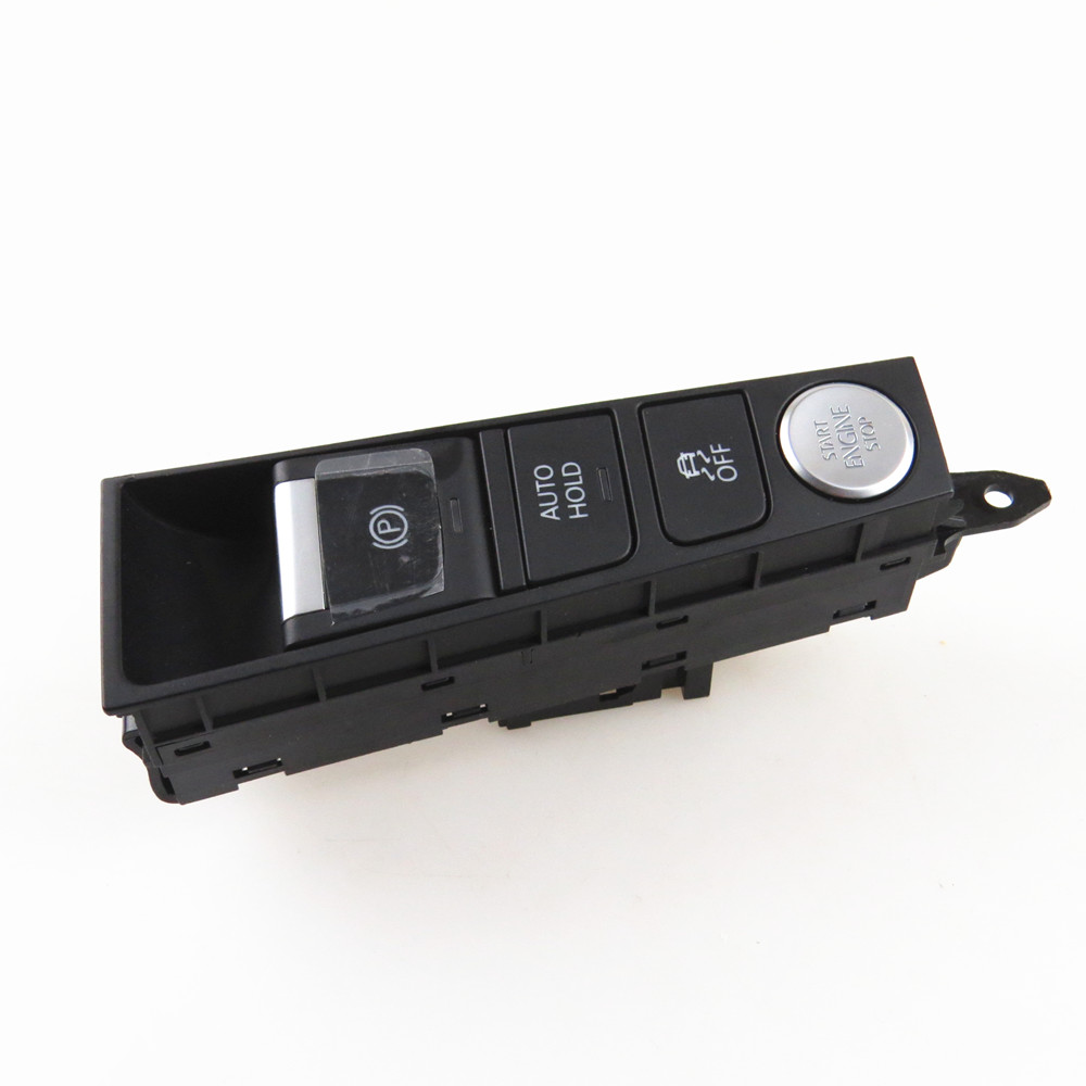 COSTLYSEED ESP Stop Start Switch Handbrake Parking Switch For 2011-2014 VW <font><b>CC</b></font> Passat B7 3AD 927 137 B 3AD927137B image