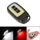Mini LED Flashlight USB Rechargeable COB LED Torch 3 Modes Pocket Flash Light White+Red Lighting For Bike Camping Hunting