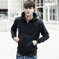 The autumn new men who garments Fashion hooded fleece jacket