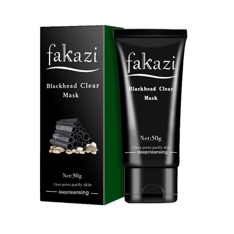 Cuidado de La Piel belleza de Carbón de Succión Máscara Negro Limpieza Profunda