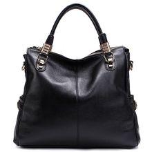 Frauen Leder Taschen Lässig Tote Designer-handtaschen Hochwertigem Echtem Leder Damen Crossbody-tasche bolsas sac ein haupt