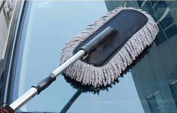 Super Sale Suciedad Limpie El Polvo Del Cepillo de Limpieza Plumero Coche Califo