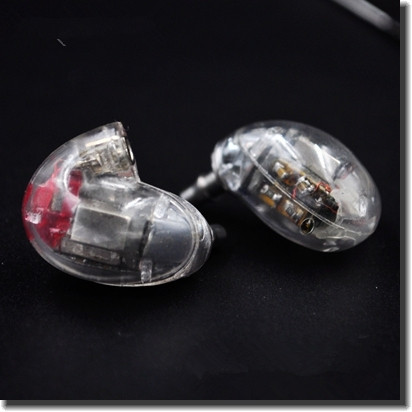 Easy Clear Color DIY EE846 5Units 5 Balanced Armature  Earphone DIY Headset Custom Made Around Ear Earphone