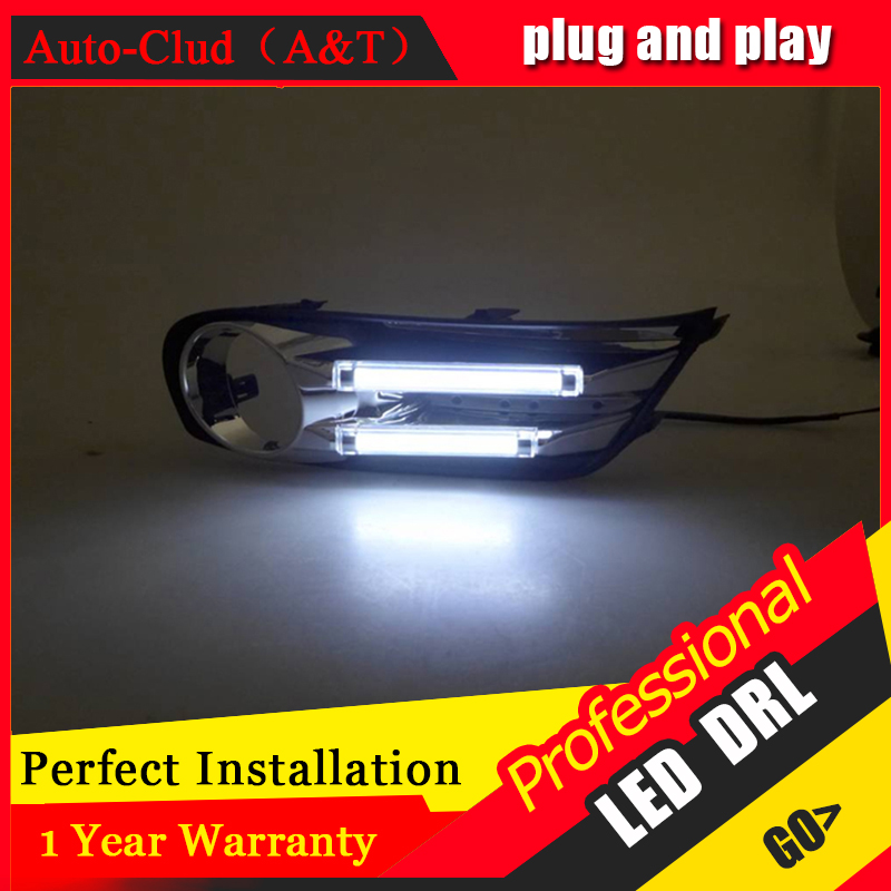Auto Clud car styling For Nissan X-Trail LED DRL For X-Trail High brightness guide LED DRL led fog lamps daytime running light B for nissan primera estate wp12 2002 2015 car styling led light emitting diodes drl fog lamps