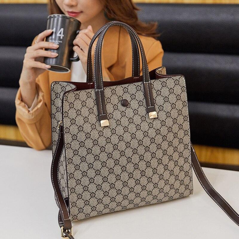 Fashion Women large capacity Business Handbags Ladies Travel Shoulder Top quality Crossbody Bags High capacity Bucket Bags 2019