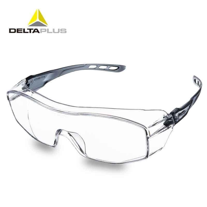 Deltaplus óculos de Proteção Óculos Óculos Transparentes Anti Poeira À Prova  de Vento Óculos de Laboratório Anti-impacto Lente PC Óculos de Segurança de  ... 77c6a9f29a