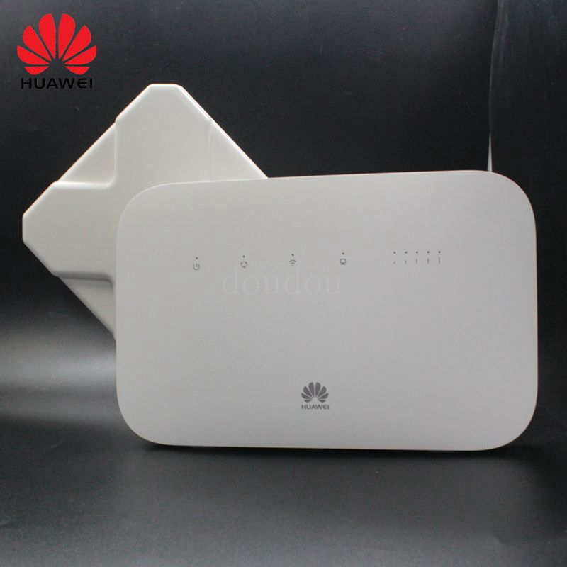 Unlocked Huawei B612 300Mbs B612s 25d with Antenna 4G LTE Cat 6 CPE Wireless Wifi Router PK B315