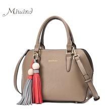 Women Bags Handbag Tote Crossbody Over Shoulder Messenger Sling Female Leather Fringe Tassel Brand Luxury Set