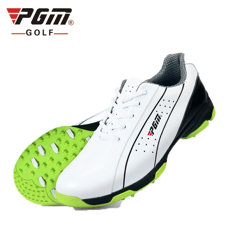 Waterproof Golf Shoes For Men Breathable Patent Design Genuine Leather Sneakers Men Sport Anti Skid Good
