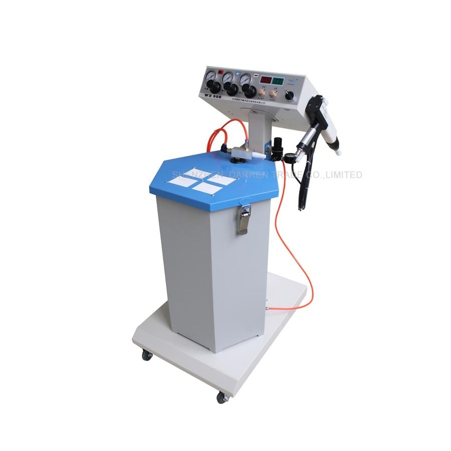 1pcs Electrostatic Powder Coating machine WX-958 Electrostatic Spray Powder Coating Machine Spraying Gun Paint powder coating machine pcb board electrostatic spray gun circuit board high voltage generator circuit board
