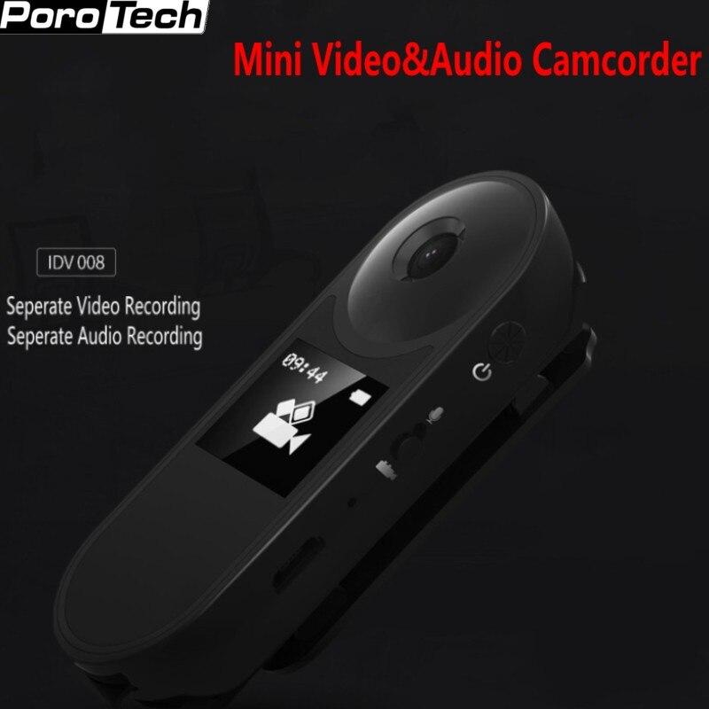 Mini DVR Camera IDV008 HD 1080P Wearable Body Bike Camcorder DV Loop Video Recorder seperate Voice Pen Recorder support 128GB mini dv dvr видеокамера скрытая видеокамера webcam recorder новый