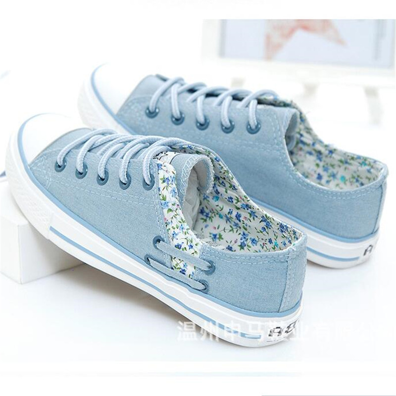 New Sneakers Canvas shoes for Women fashion 2019 Solid Superstar Hook Loop Vulcanize shoes Girls Zapatillas mujer in Women 39 s Vulcanize Shoes from Shoes