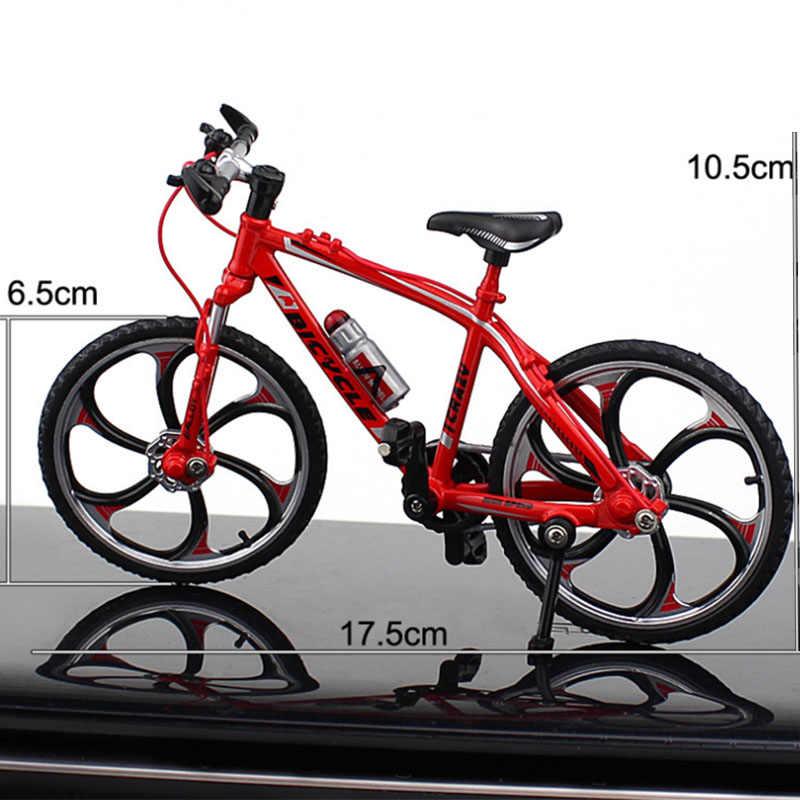 1:10 Miniatur Rennrad Fahrrad Modell Kinder Kreatives Spielzeug Weiß A