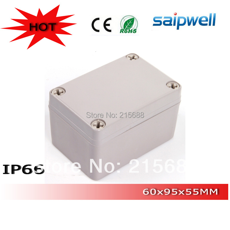 low shipping high quality Saipwell ip66 waterproof terminal cable junction switch box 65 95 55mm DS