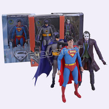 "NECA DC Comics Superman Batman The Joker PVC Action Figure Toy Collectible 7 ""18 cm 3 Estilos(China)"