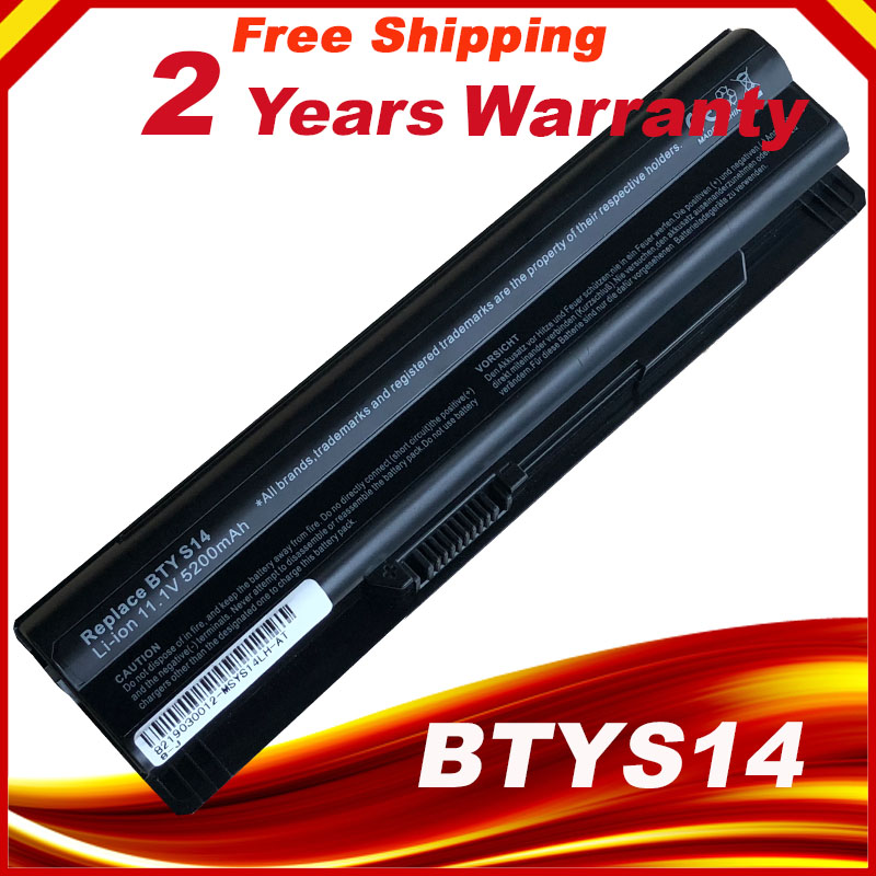 New BTY-S14 Laptop battery For <font><b>MSI</b></font> Laptop Battery GE70 GE60 <font><b>FX720</b></font> GE620 GE620DX GE70 A6500 CR41 CR61 FR720 CX70 FX700 image