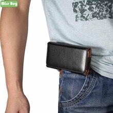 Waist Bag Belt Clip Flip Pouch for iPhone X 8 7 6 6S Plus 5 5S SE 5C 4 Xr Xs Max Phone Bags PU Leather Cover Protective Case цены