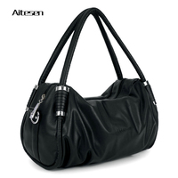 Aitesen 2016 New Fashion Brand Women Bag Leather Handbag High Quality Shoudler Messenger Bags Ladies Pu