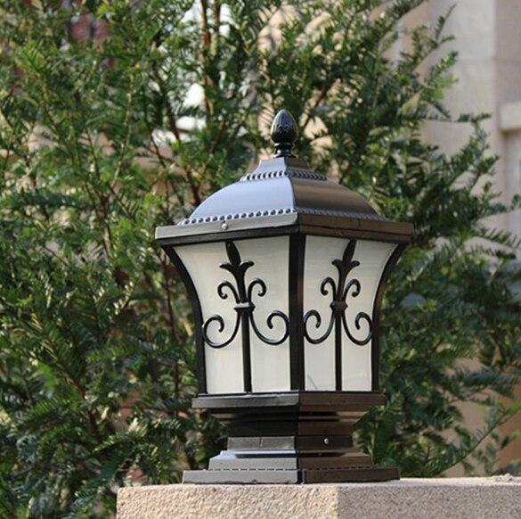 Lampe pilier achetez des lots petit prix lampe pilier en for Lampe solaire pour portail