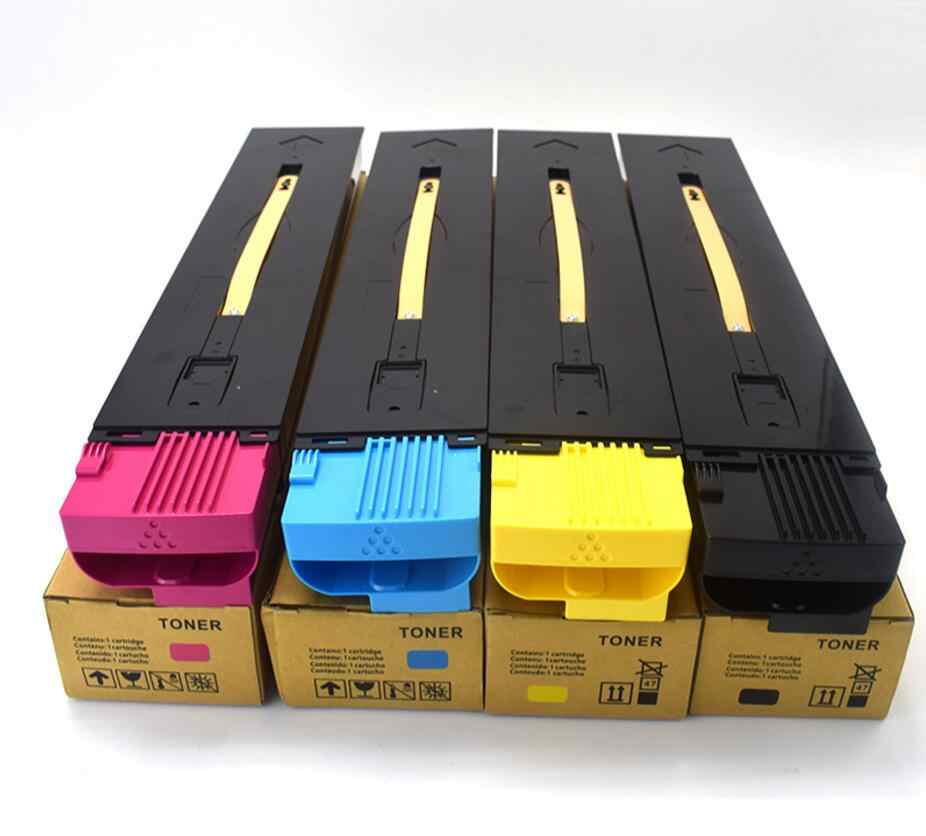 4 Pcs Baru 5580 Toner Cartridge Printer Cartridge untuk Xerox C7780 6680 5580 550 560 570 Warna Toner Cartridge Printer toner Kcmy