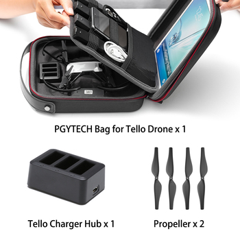 DJI Tello Drone & Bag & Charger Hub 720P HD Transmission Camera APP Remote Control Folding Toy FPV RC Quadcopter Drones   8